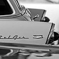 1956 Chevrolet Belair Nomad Rear End Emblem by Jill Reger