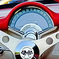 1957 Chevrolet Corvette Convertible Steering Wheel by Jill Reger