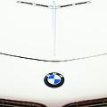 1958 Bmw 507 Roadster Hood Emblem by Jill Reger
