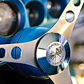1958 Chevrolet Corvette Steering Wheel by Jill Reger