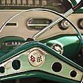 1958 Chevrolet Impala Steering Wheel by Jill Reger