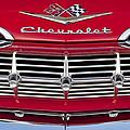1959 Chevrolet Grille Ornament by Jill Reger