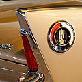 1960 Plymouth Fury Convertible Taillight And Emblem by Jill Reger