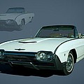 1963 Ford Thunderbird Convertible by Tim McCullough