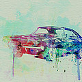 1967 Dodge Charger  2 Print by Naxart Studio