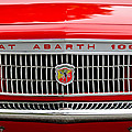 1967 Fiat Abarth 1000 Otr Grille by Jill Reger