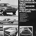 1970 Dodge Challenger T/a by Digital Repro Depot
