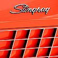 1972 Chevrolet Corvette Stingray Emblem 3 by Jill Reger