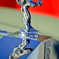 1976 Rolls Royce Silver Shadow Hood Ornament by Jill Reger