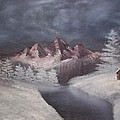 1st Painting 2-27-1991 by Rhonda Lee