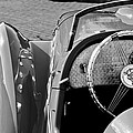 1937 Peugeot 402 Darl'Mat Legere Speacial Sport Roadster Recreation Steering Wheel Emblem Print by Jill Reger