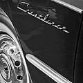 1951 Ford Crestliner Emblem - Wheel by Jill Reger