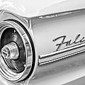 1963 Ford Falcon Futura Convertible Taillight Emblem by Jill Reger