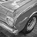 1963 Ford Falcon Sprint Convertible Bw  by Rich Franco