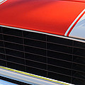 96 Inch Panoramic -1969 Chevrolet Camaro Rs-ss Indy Pace Car Replica Grille - Hood Emblems by Jill Reger