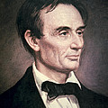 Abraham Lincoln Print by George Peter Alexander Healy