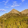Alaska Mountains Print by Chad Dutson