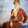 Amelia Earhart Print by Cora Wandel