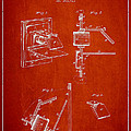 Camera Obscura Patent Drawing From 1881 by Aged Pixel