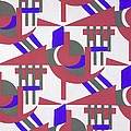 Design From Nouvelles Compositions Decoratives by Serge Gladky