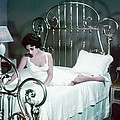 Elizabeth Taylor In Cat On A Hot Tin Roof  by Silver Screen