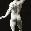 Eugen Sandow In Classical Ancient Greco Roman Pose by American Photographer