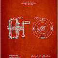 Fishing Reel Patent from 1874 Print by Aged Pixel