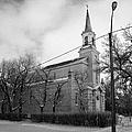 former st josephs catholic church in Forget Saskatchewan Canada by Joe Fox