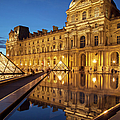 Louvre Reflections by Brian Jannsen