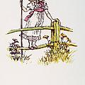 MOTHER GOOSE: BO-PEEP Print by Granger