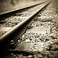 Railway Tracks by Les Cunliffe