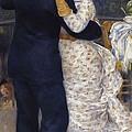 Renoir, Pierre-auguste 1841-1919. Dance by Everett