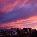 Salt Lake City Sunset by Rona Black