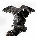 Seraph Angel A Religious Bronze Sculpture By Adam Long by Adam Long