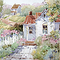 Summer Time Cottage by Joyce Hicks