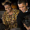 The President And First Lady by JP Tripp