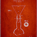 Vintage Bottle Neck Patent From 1891 by Aged Pixel