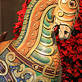 Vintage Carousel Horse by Suzanne Gaff