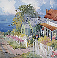 Westport by the Sea Print by Joyce Hicks