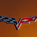2007 Chevrolet Corvette Indy Pace Car Emblem by Jill Reger