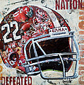 2009 Alabama National Champions by Alaina Enslen