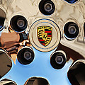 2010 Porsche Panamera Turbo Wheel by Jill Reger