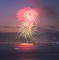 2014 4th Of July Firework Celebration.  by Jason Choy