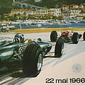 24th Monaco Grand Prix 1966 by Georgia Fowler