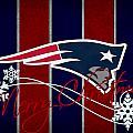New England Patriots by Joe Hamilton