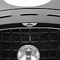 1952 Aston Martin Db3 Sports Hood Emblem by Jill Reger