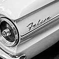 1963 Ford Falcon Futura Convertible Taillight Emblem by Jill Reger
