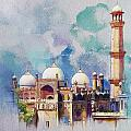 Badshahi Mosque by Catf