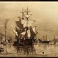 Historic Seaport Schooner by John Stephens