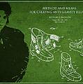 Michael Jackson Patent Print by Aged Pixel